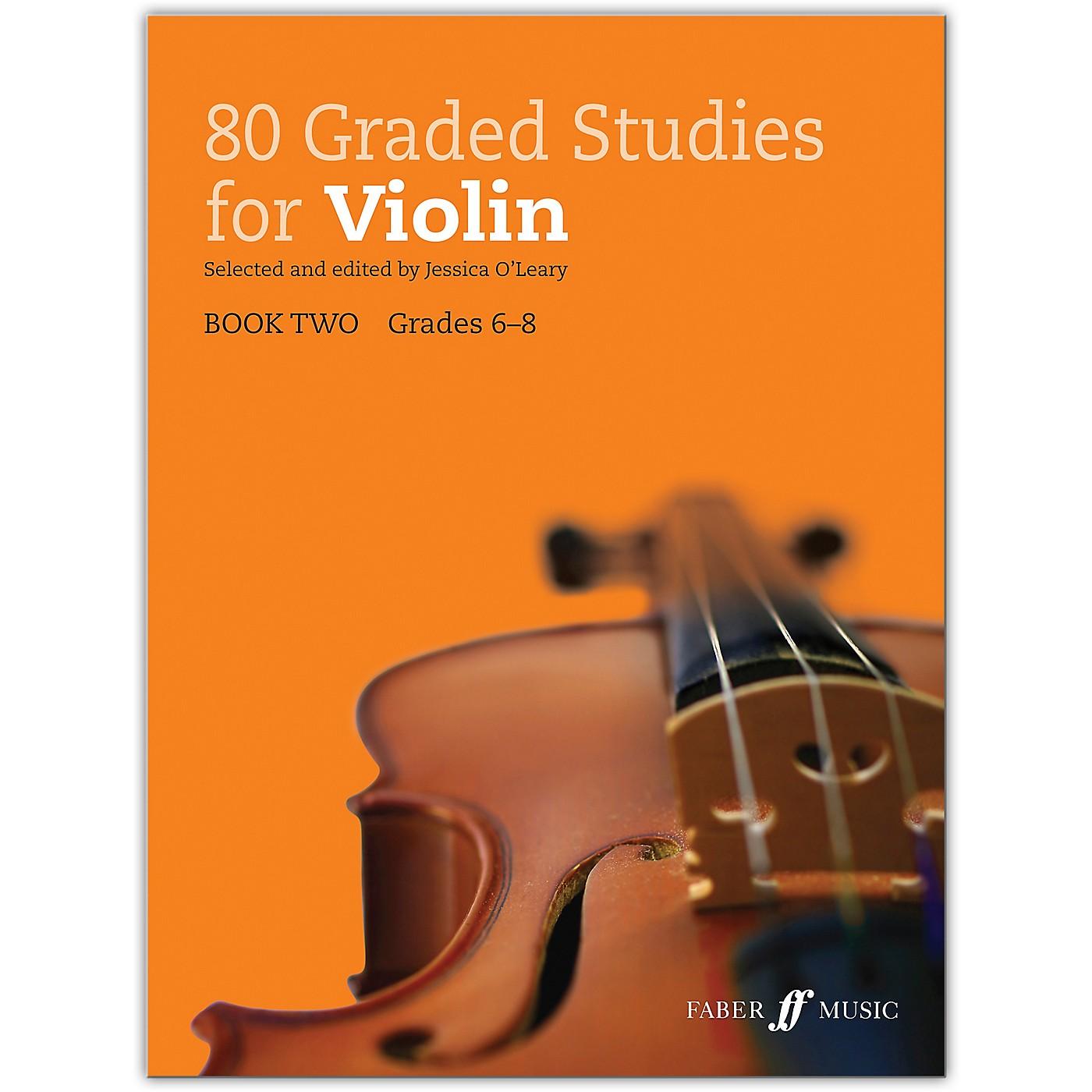 Faber Music LTD 80 Graded Studies for Violin, Book Two Grades 6-8 thumbnail