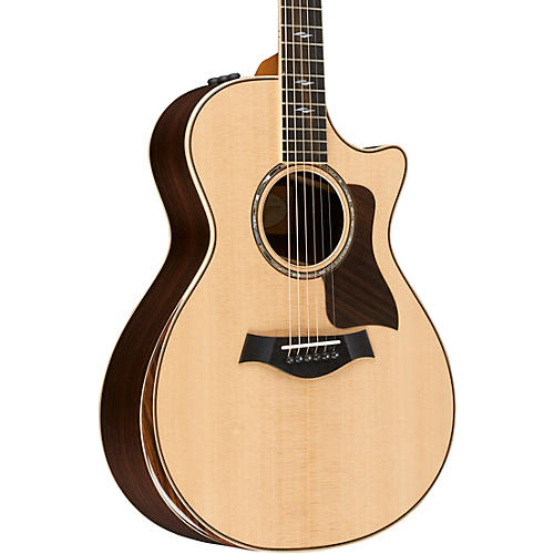 Taylor 800 Deluxe Series 812ce Grand Concert Acoustic-Electric Guitar thumbnail
