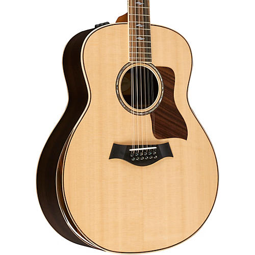Taylor 800 Deluxe Series 858e DLX Grand Orchestra Acoustic-Electric Guitar thumbnail