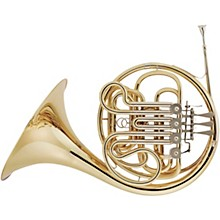 Hans Hoyer 801 Geyer Style Series Double Horn with Mechanical Linkage and Fixed Bell