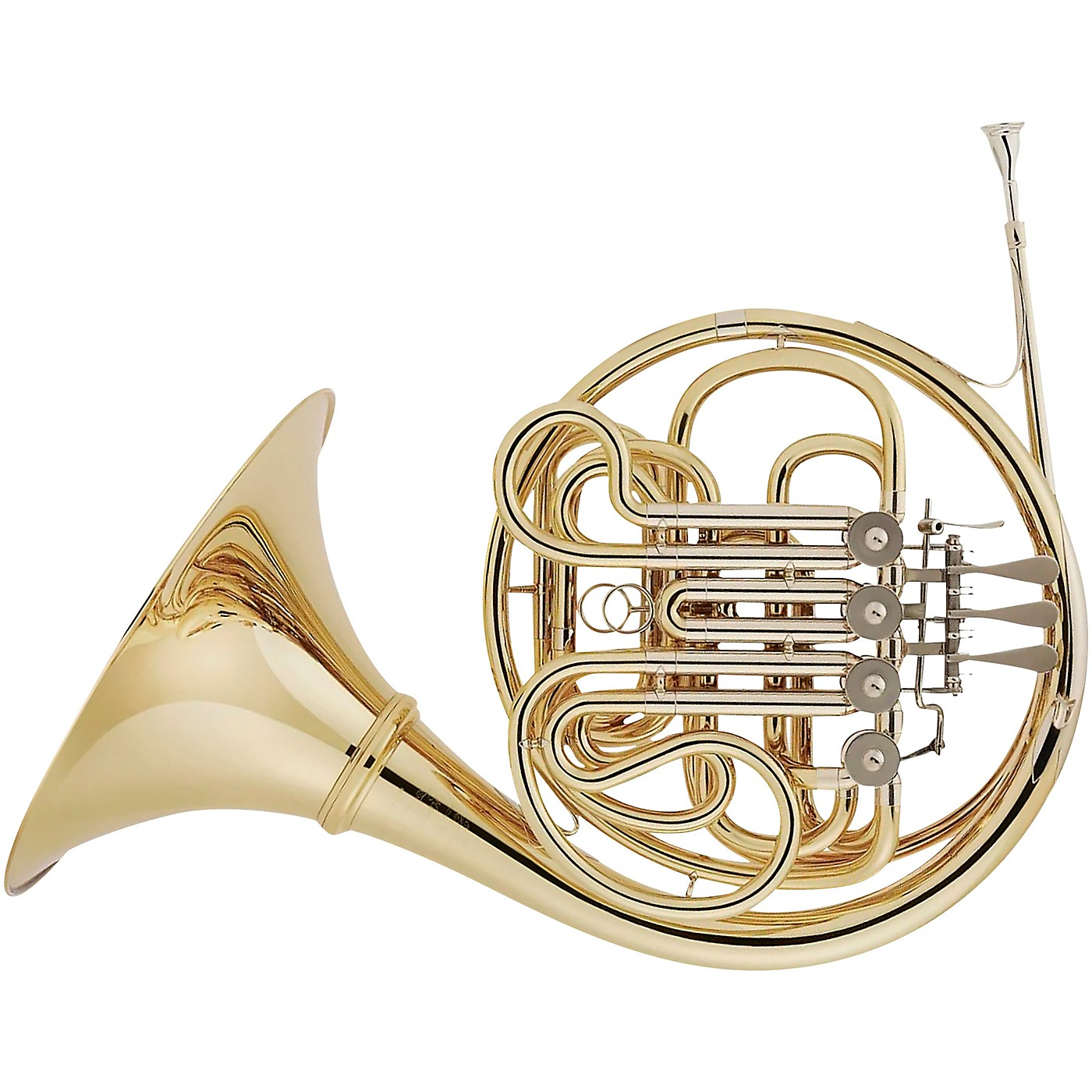 Hans Hoyer 802A Geyer Style Series Double Horn with String Linkage and Detachable Bell thumbnail