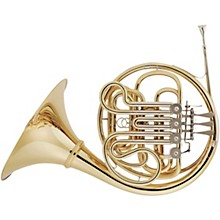 Hans Hoyer 802A Geyer Style Series Double Horn with String Linkage and Detachable Bell