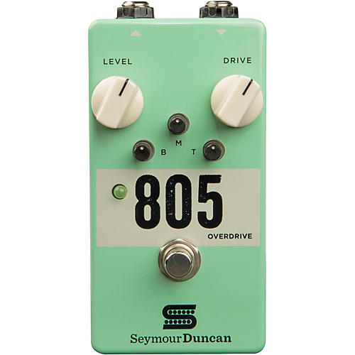 Seymour Duncan 805 Overdrive Guitar Effects Pedal thumbnail