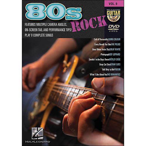 Hal Leonard 80S Rock - Guitar Play-Along DVD Volume 9 thumbnail