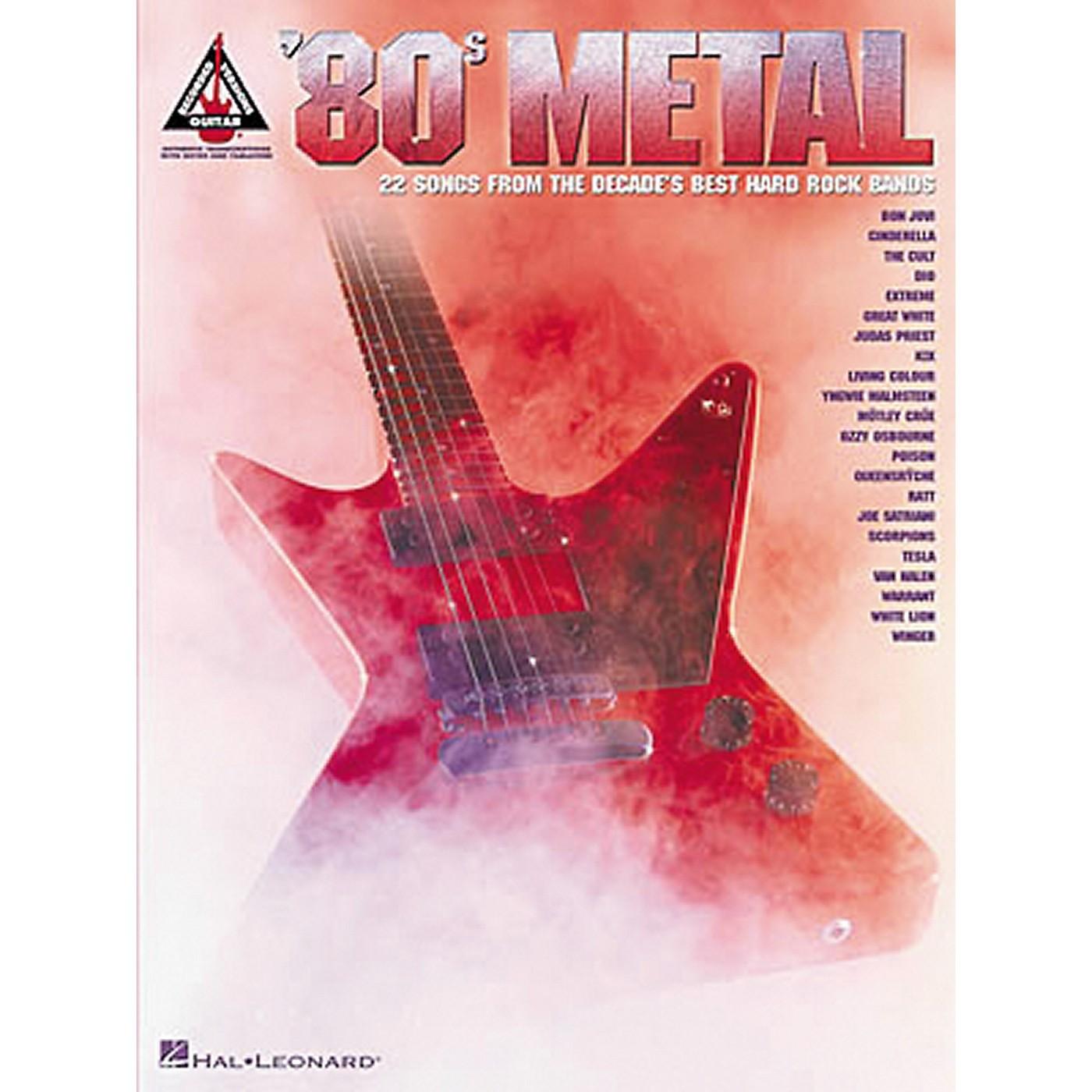 Hal Leonard 80s Metal Guitar Tab Songbook thumbnail