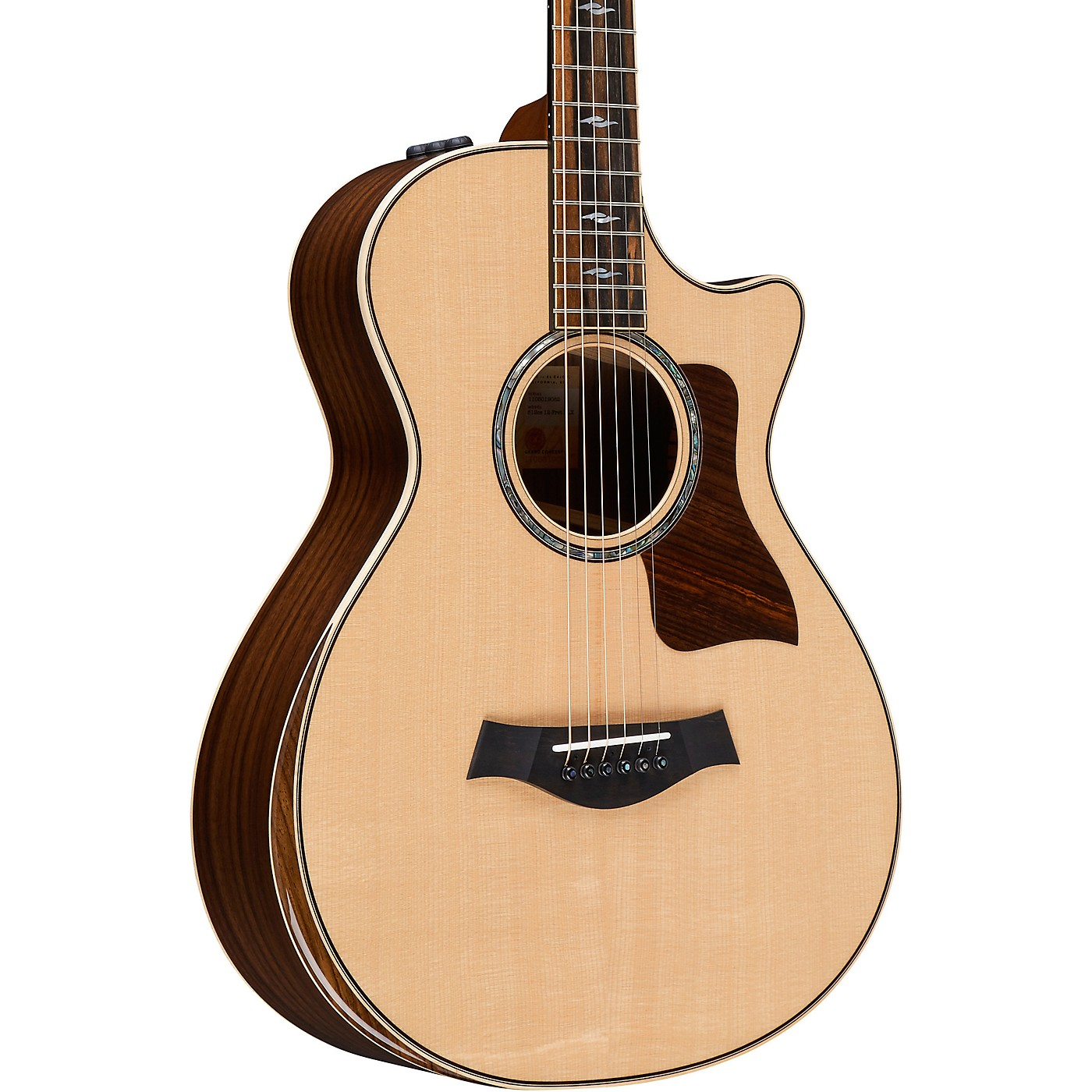 Taylor 812ce DLX 12-Fret V-Class Grand Concert Acoustic-Electric Guitar thumbnail