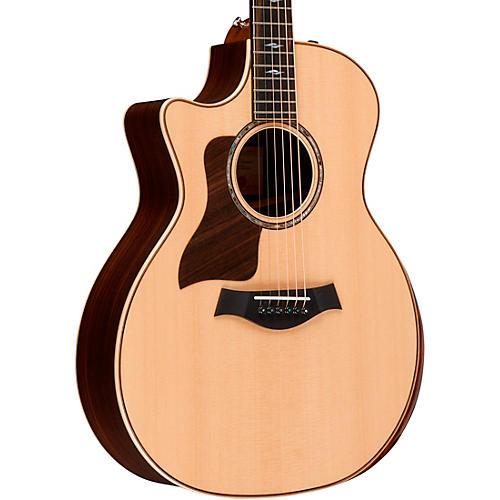 Taylor 814ce DLX V-Class Grand Auditorium Left-Handed Acoustic-Electric Guitar thumbnail