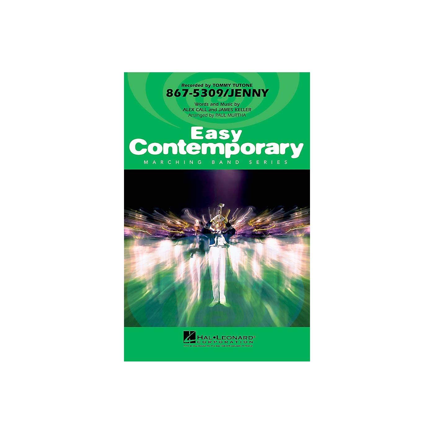 Hal Leonard 867-5309/Jenny Marching Band Level 2-3 Arranged by Paul Murtha thumbnail