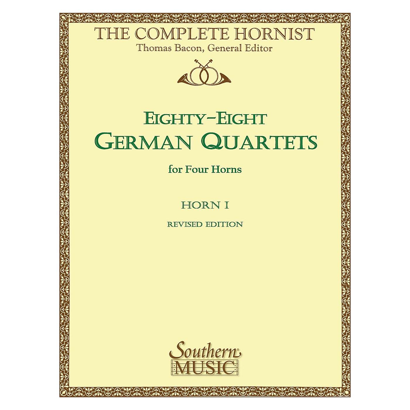 Southern 88 German Quartets (Horn Quartet - Horn 1) Southern Music Series Arranged by Thomas Bacon thumbnail