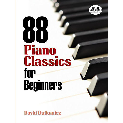 Alfred 88 Piano Classics for Beginners Book thumbnail