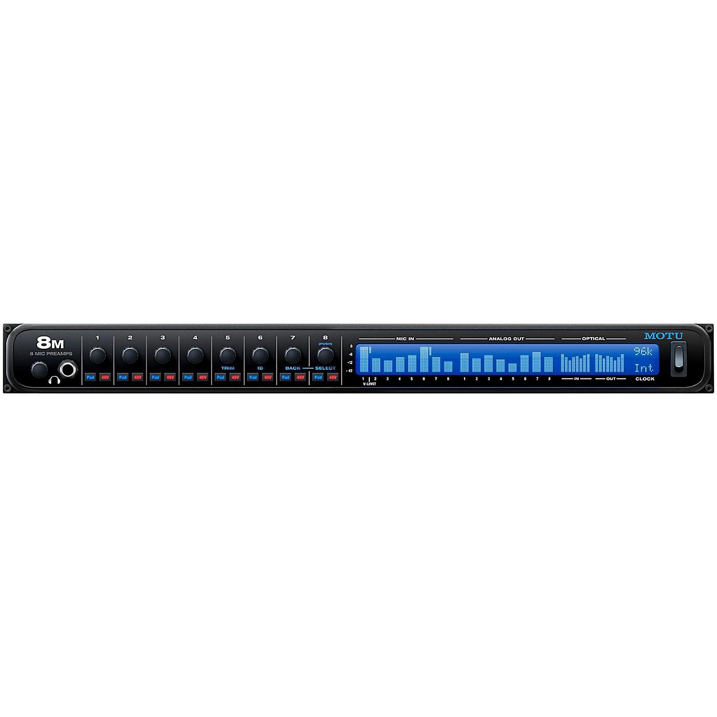 MOTU 8M Thunderbolt Audio Interface thumbnail