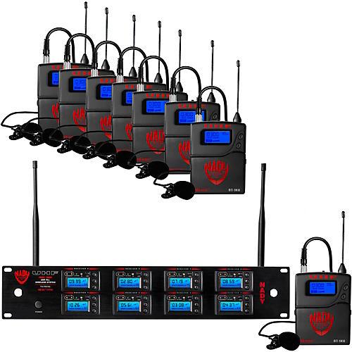 Nady 8W-1KU - Eight 1000-Channel Handheld Wireless System thumbnail