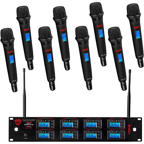 Nady 8W-1KU UHF 8-Channel Wireless Receiver System thumbnail