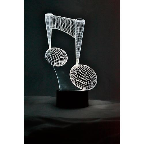 AIM 8th Note 3D LED Lamp Optical Illusion Light thumbnail