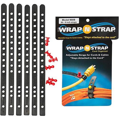 Wrap-N-Strap 9 In. 6-Pack Black thumbnail