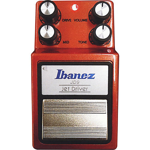 ibanez 9 series jd9 jet driver overdrive guitar effects pedal woodwind brasswind. Black Bedroom Furniture Sets. Home Design Ideas