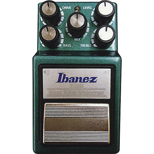 Ibanez 9 Series TS9B Bass Tube Screamer Overdrive Bass Effects Pedal thumbnail