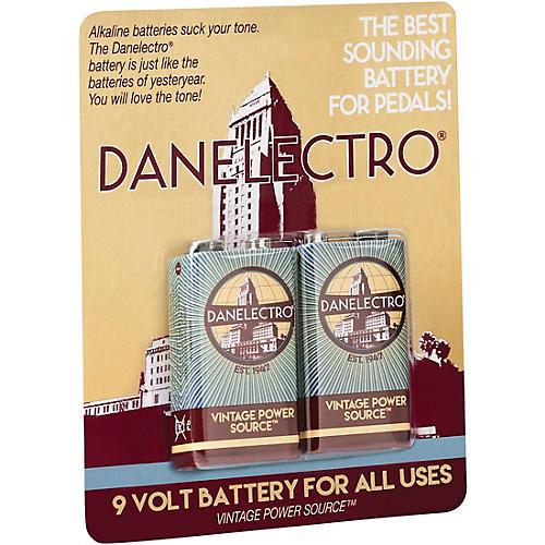 Danelectro 9-Volt Vintage Style Batteries 2-Pack thumbnail