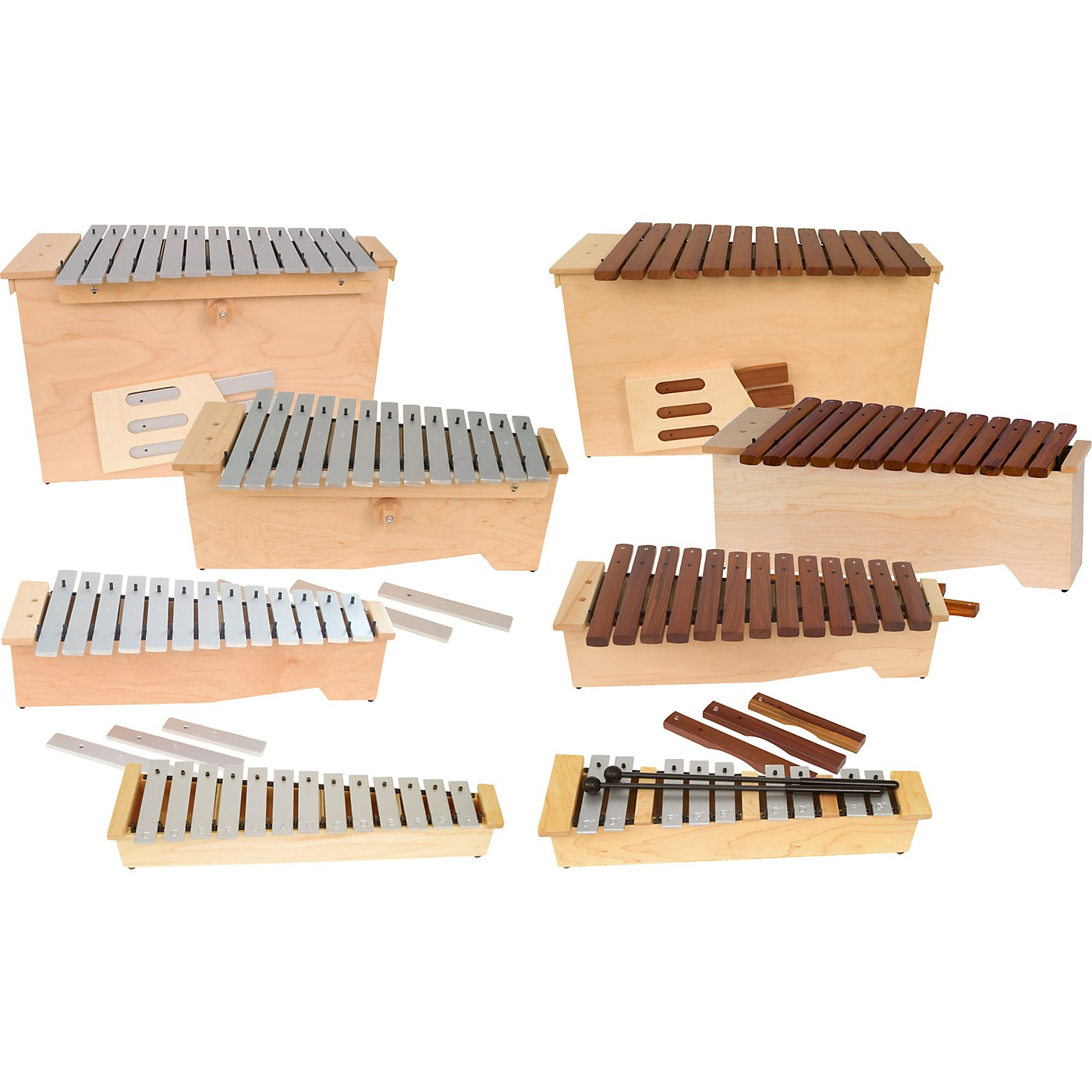 Lyons 9-piece Orff Instrument Set thumbnail