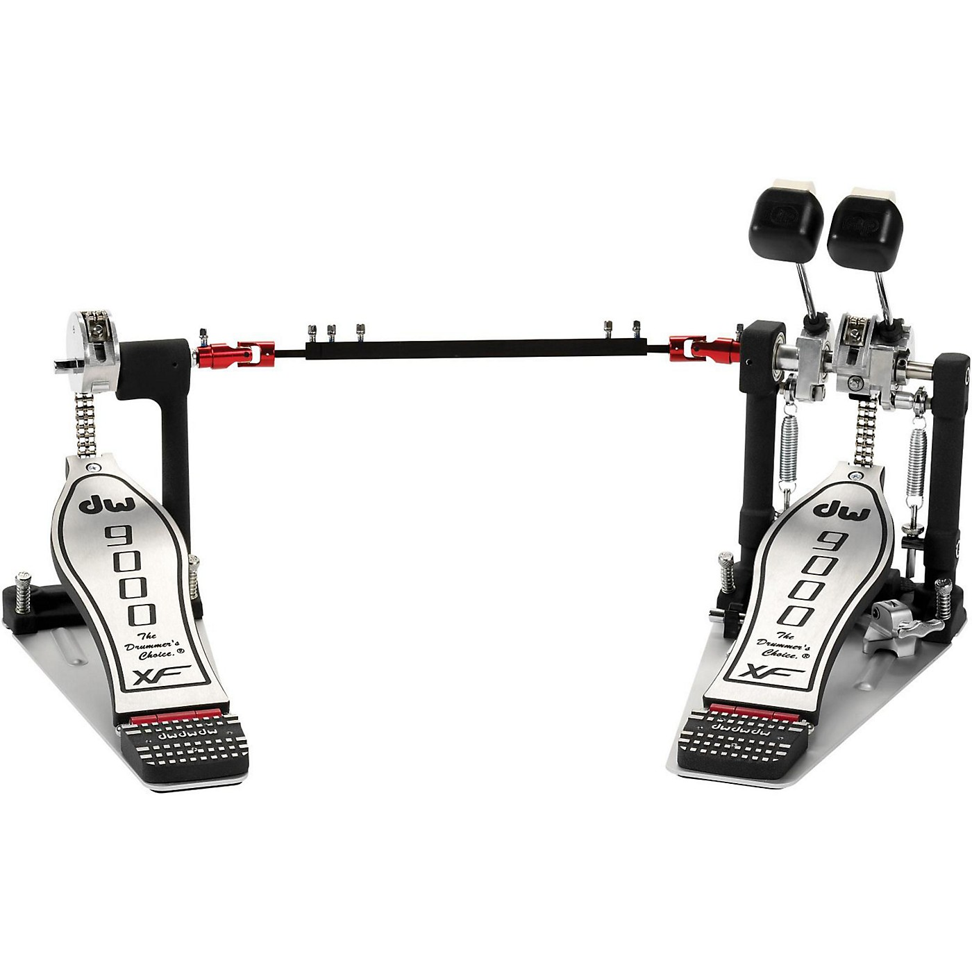 DW 9000 Series Double Bass Drum Pedal with eXtended Footboard thumbnail