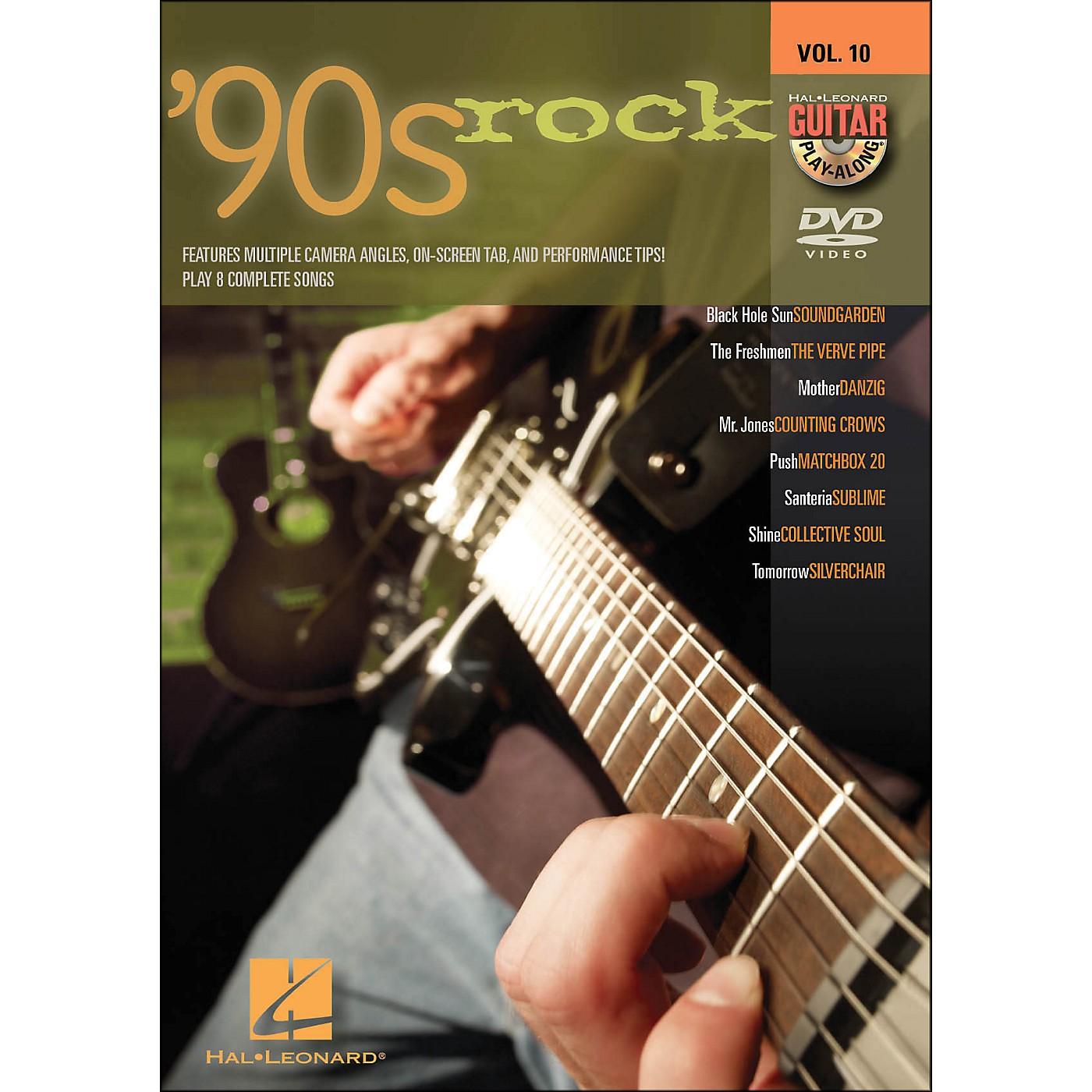 Hal Leonard 90s Rock - Guitar Play-Along DVD Volume 10 thumbnail