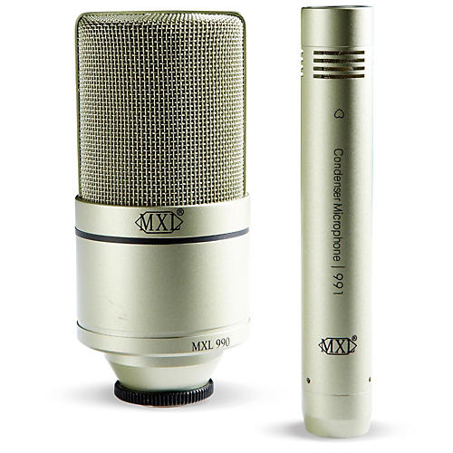 MXL 990/991 Recording Microphone Package thumbnail