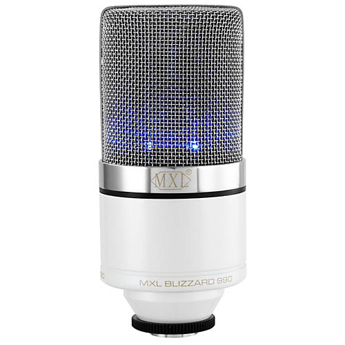 MXL 990 Blizzard Limited Edition Condenser Microphone thumbnail