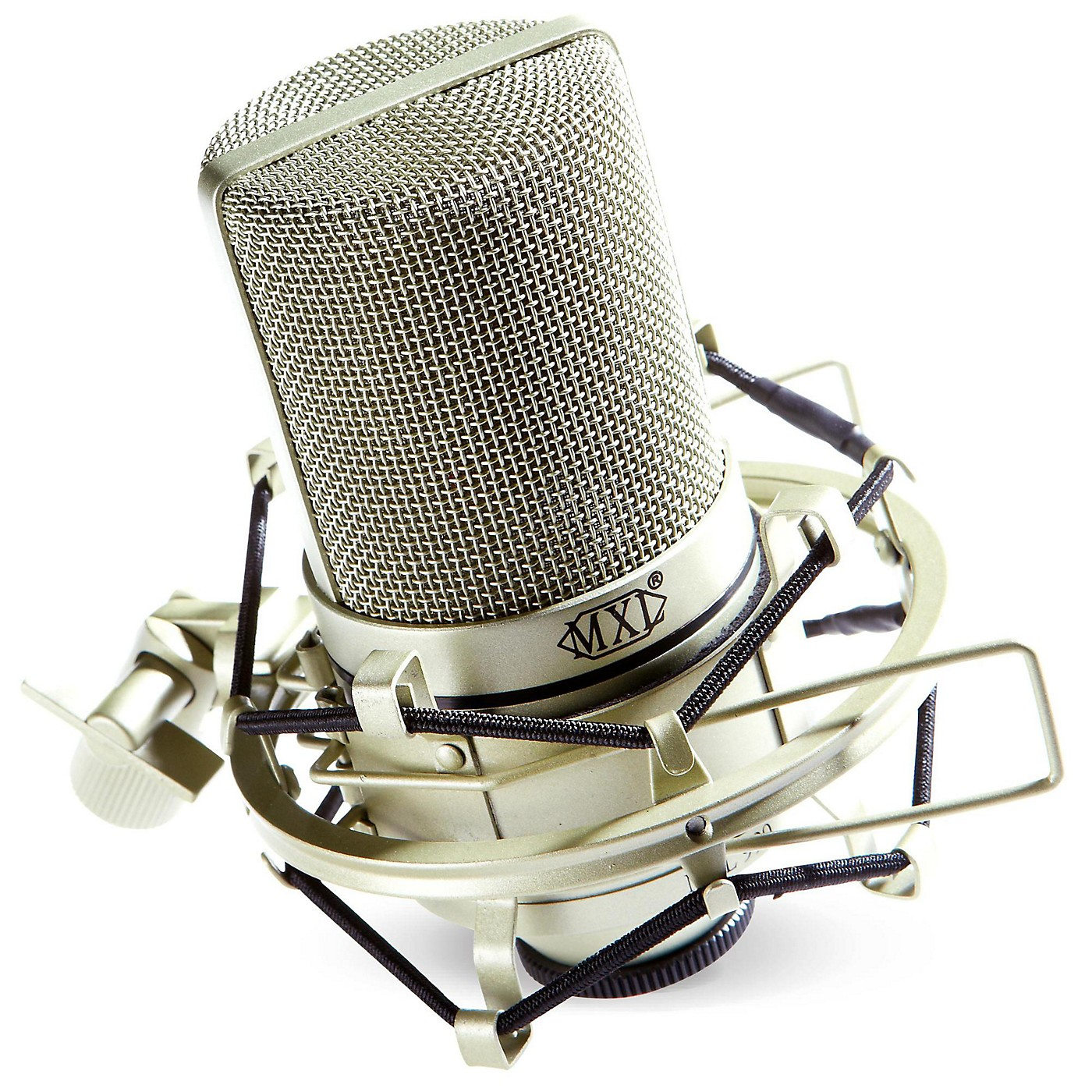 MXL 990 Condenser Microphone with Shockmount thumbnail
