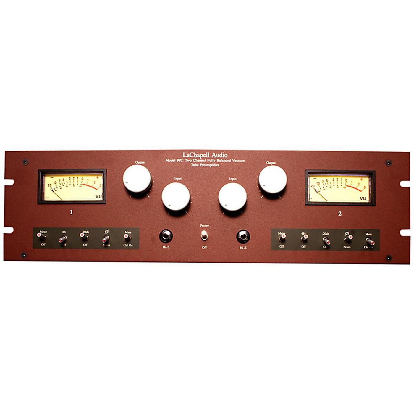 LaChapell Audio 992EG 2-Channel Extended Gain Tube Mic Pre thumbnail
