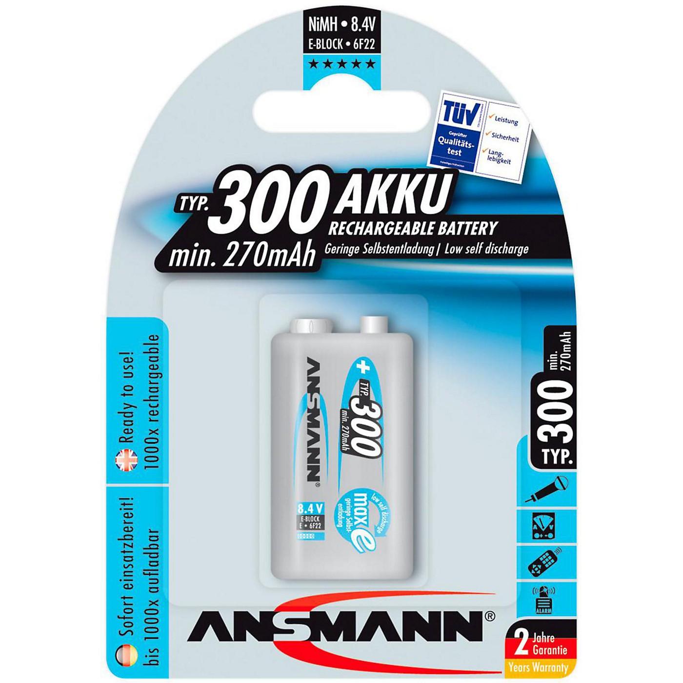 Ansmann 9V Max-E Battery thumbnail