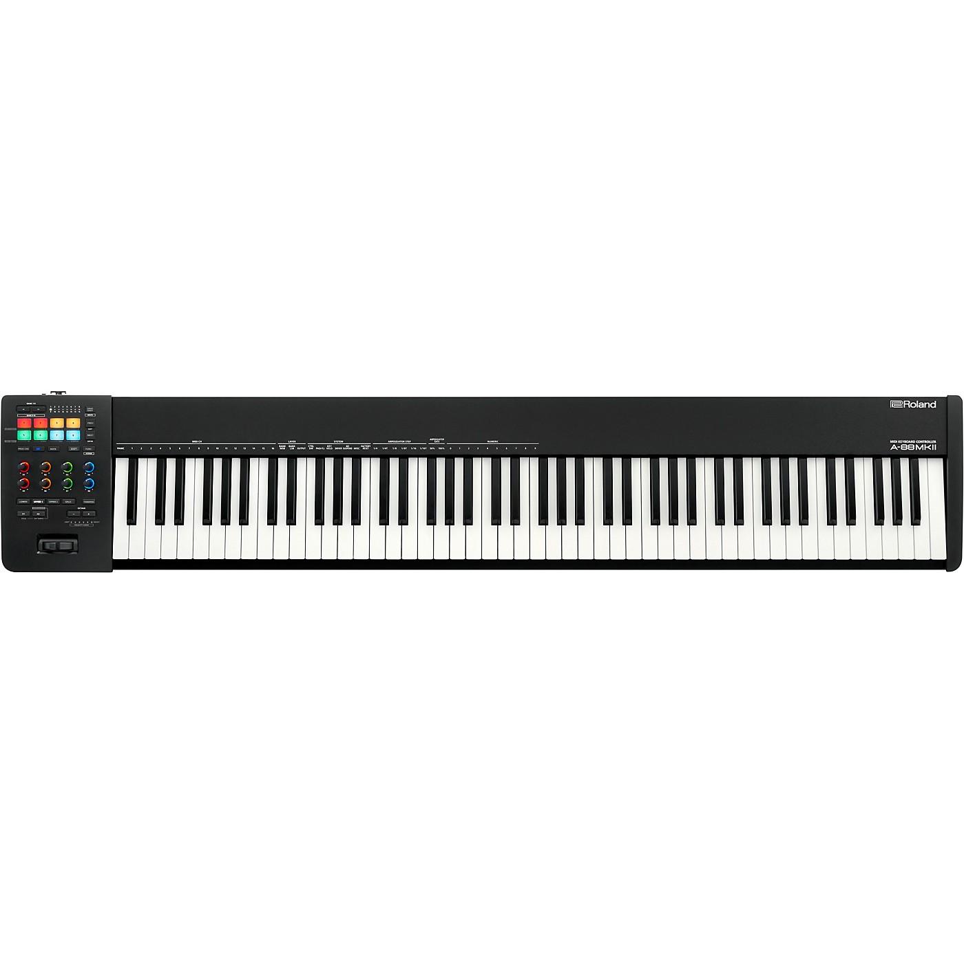 Roland A-88MKII MIDI Keyboard Controller thumbnail