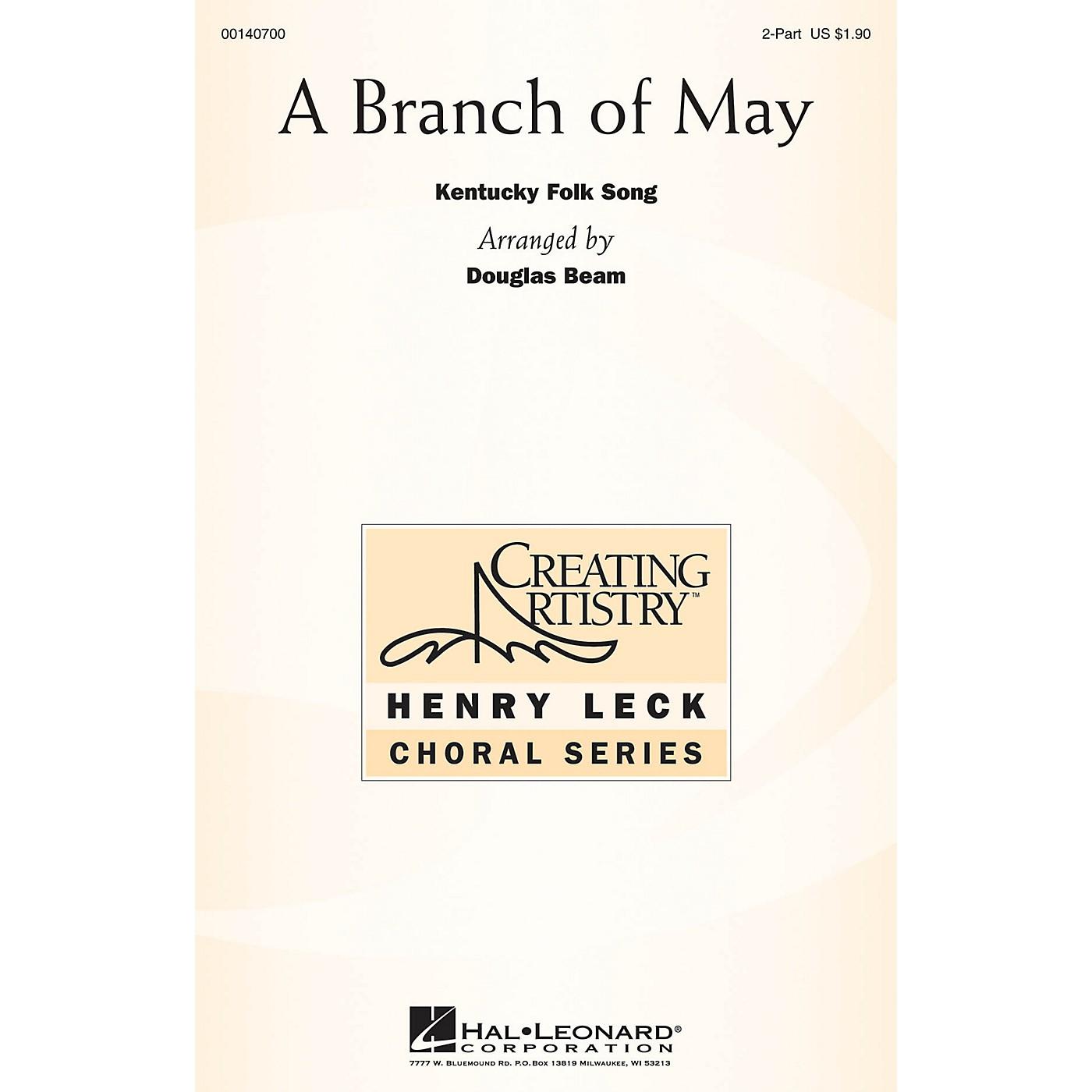 Hal Leonard A Branch of May 2PT TREBLE arranged by Douglas Beam thumbnail