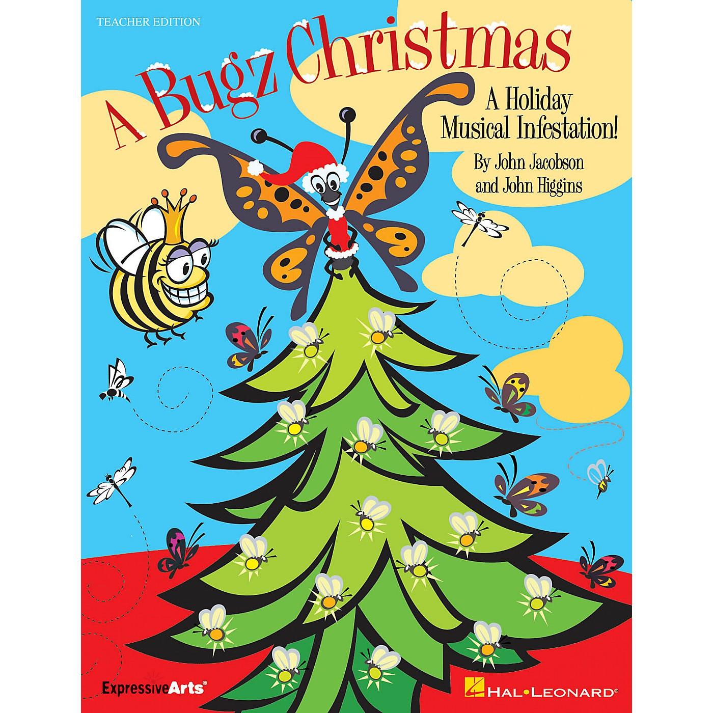 Hal Leonard A Bugz Christmas (A Holiday Musical Infestation!) PREV CD Composed by John Higgins thumbnail