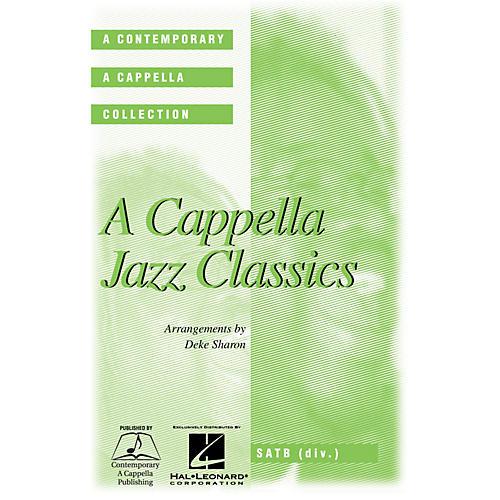 Hal Leonard A Cappella Jazz Classics SATB DV A Cappella arranged by Deke Sharon thumbnail