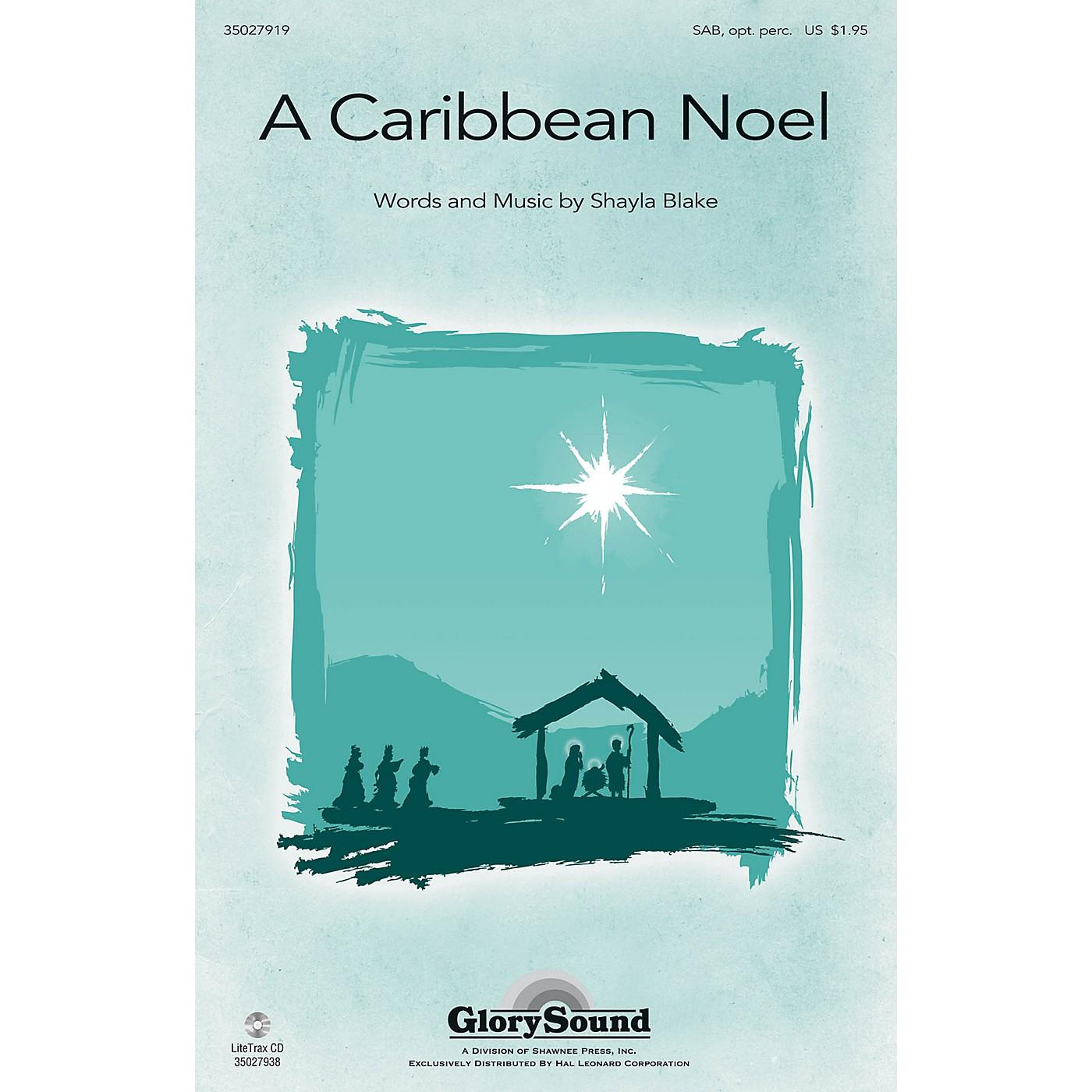 Shawnee Press A Caribbean Noel SAB, OPT ACCOMPANIMENT composed by Shayla Blake thumbnail