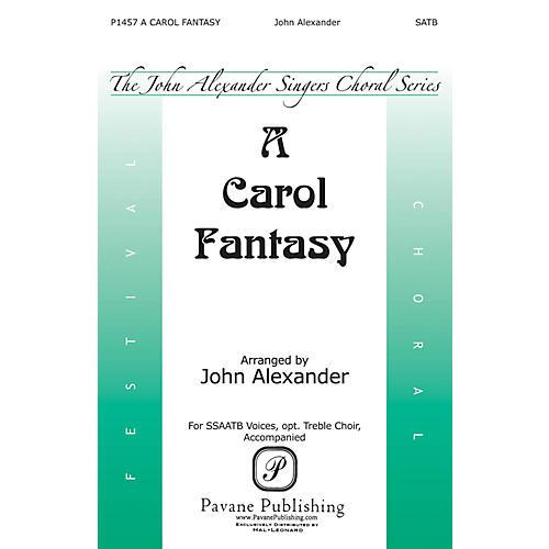 Pavane A Carol Fantasy SSAATB arranged by John Alexander thumbnail
