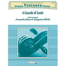 Alfred A Cascade of Carols String Orchestra Grade 2.5