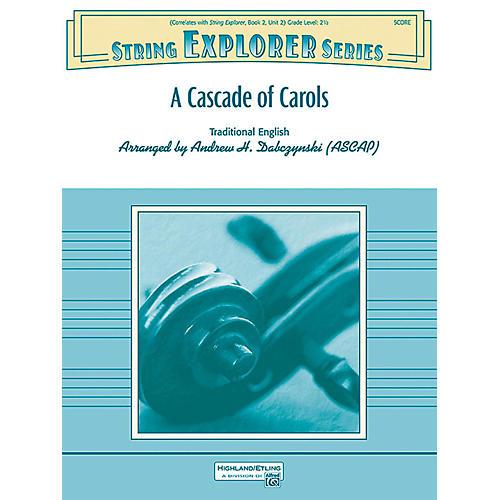 Alfred A Cascade of Carols String Orchestra Grade 2.5 thumbnail