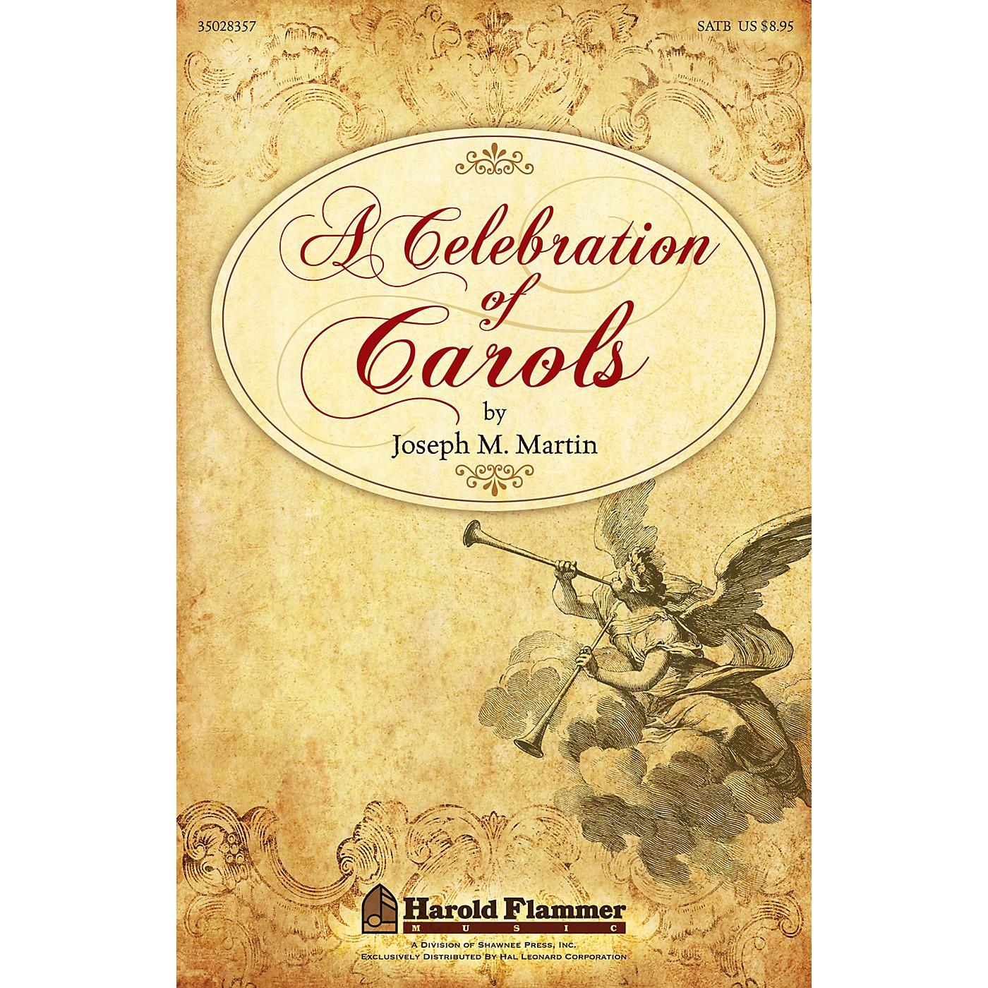 Shawnee Press A Celebration of Carols REHEARSAL TX Composed by Joseph Martin thumbnail