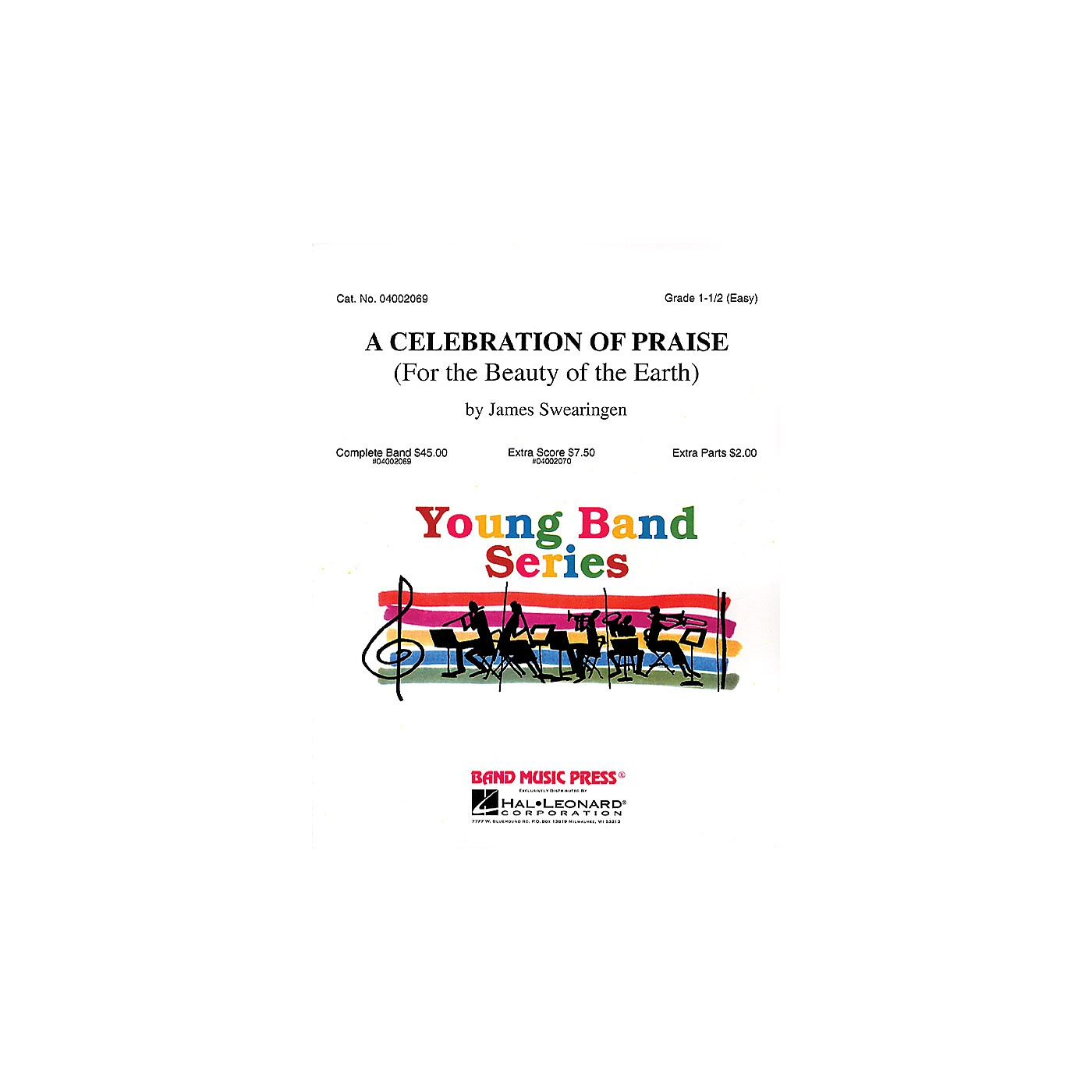 Hal Leonard A Celebration of Praise (For the Beauty of the Earth) Concert Band Level 1.5 Arranged by James Swearingen thumbnail