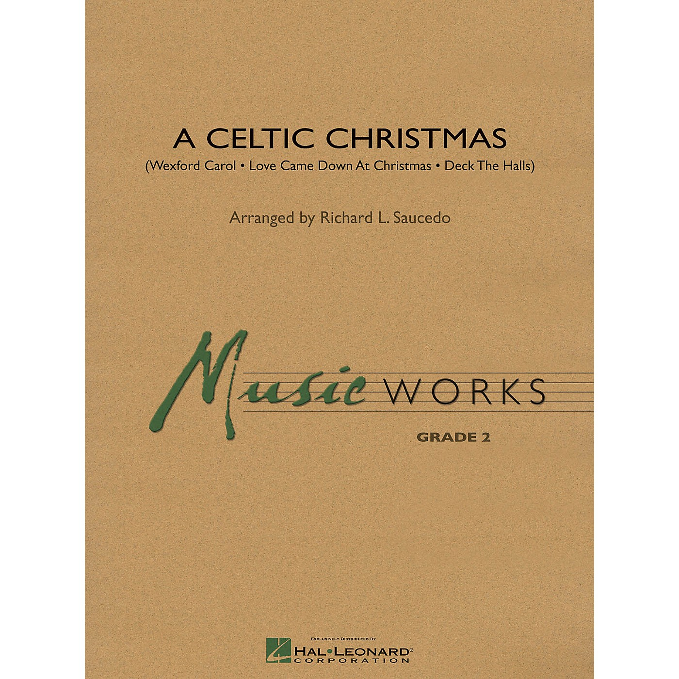 Hal Leonard A Celtic Christmas Concert Band Level 2 Arranged by Richard L. Saucedo thumbnail