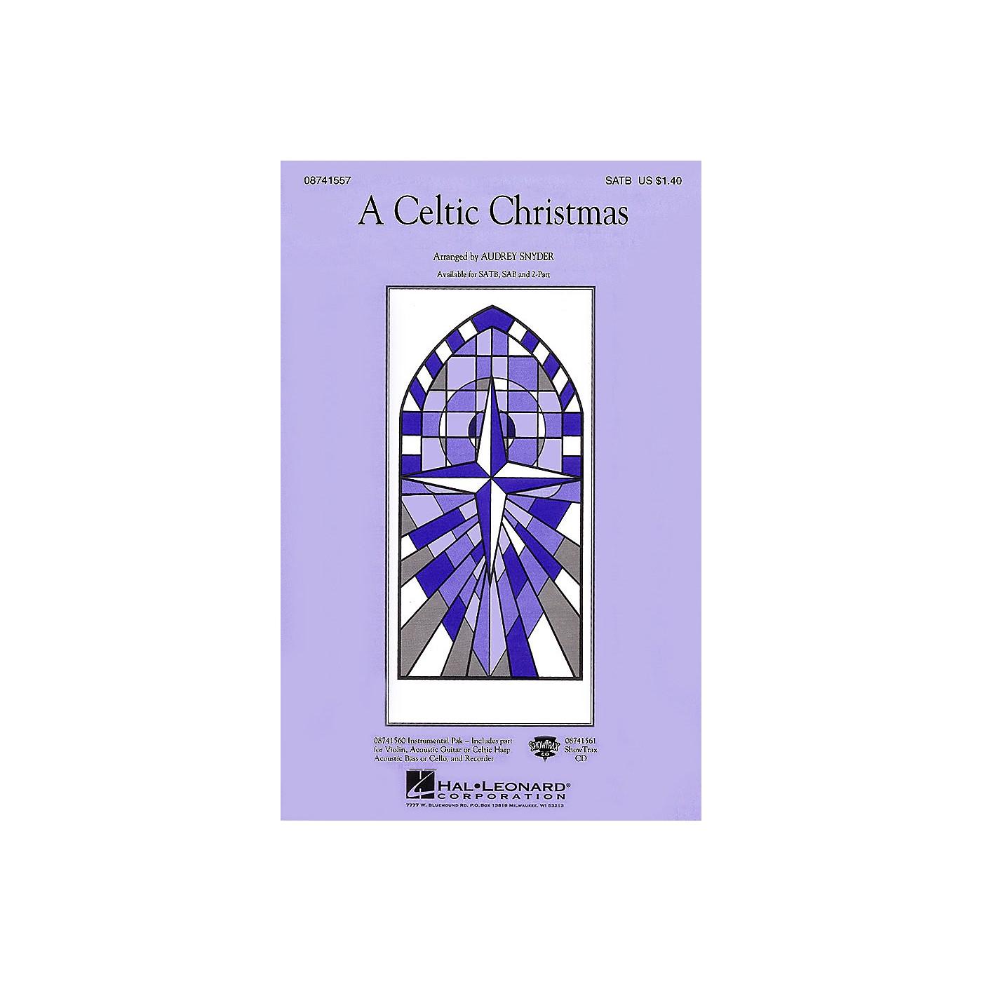 Hal Leonard A Celtic Christmas SATB arranged by Audrey Snyder thumbnail