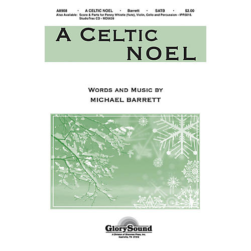 Shawnee Press A Celtic Noel ORCHESTRATION ON CD-ROM Composed by Michael Barrett thumbnail