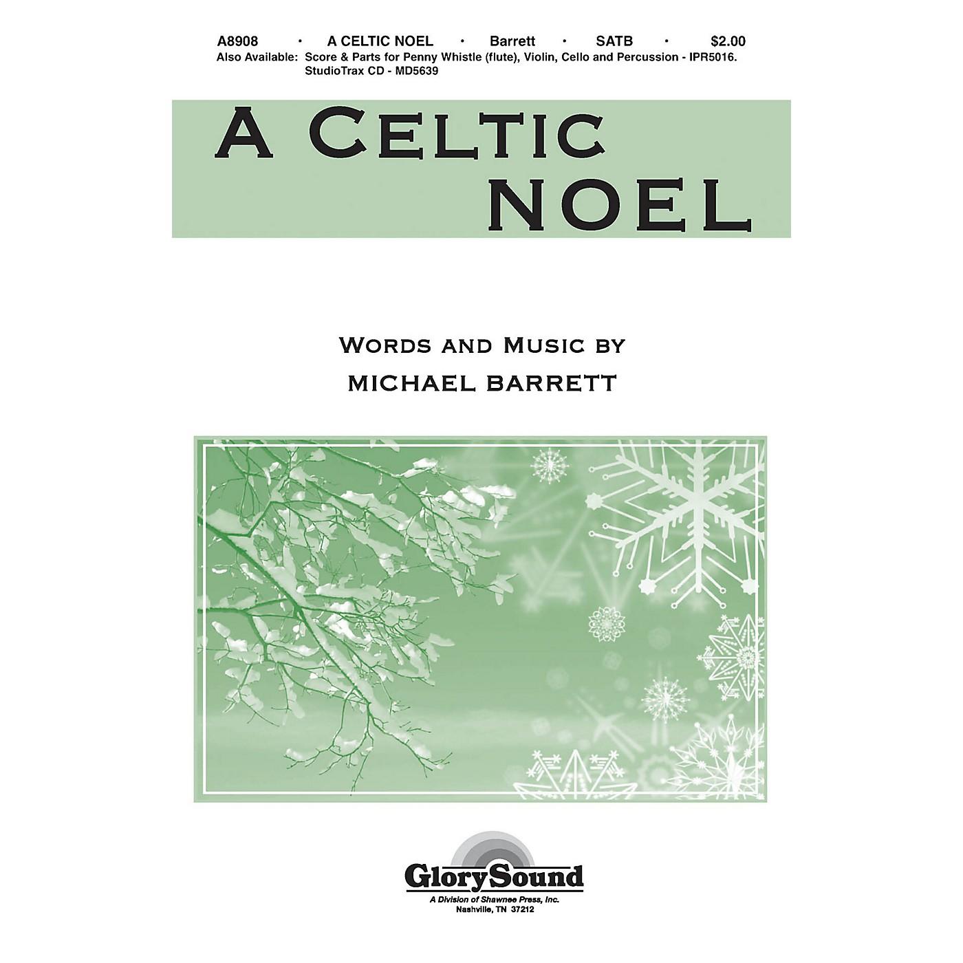 Shawnee Press A Celtic Noel SATB composed by Michael Barrett thumbnail