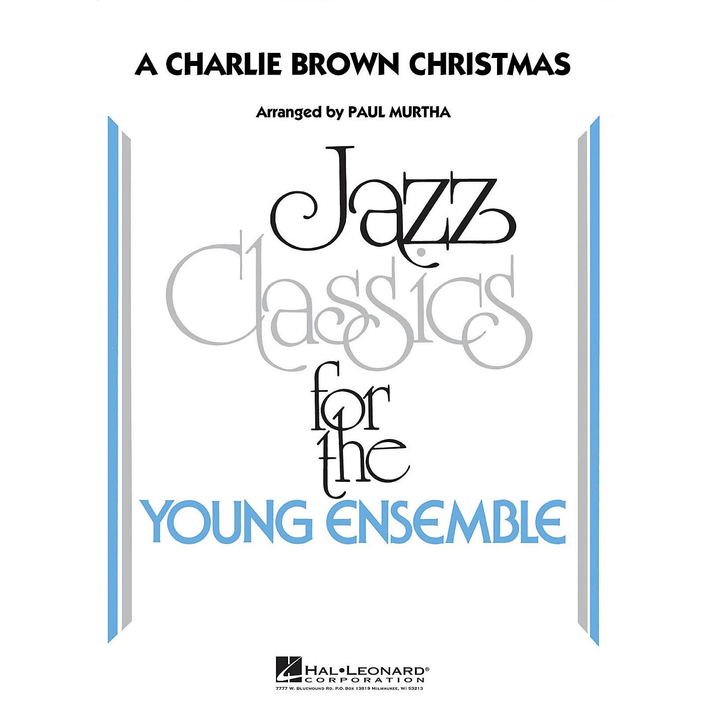 Hal Leonard A Charlie Brown Christmas Jazz Band Level 3 Arranged by Paul Murtha thumbnail