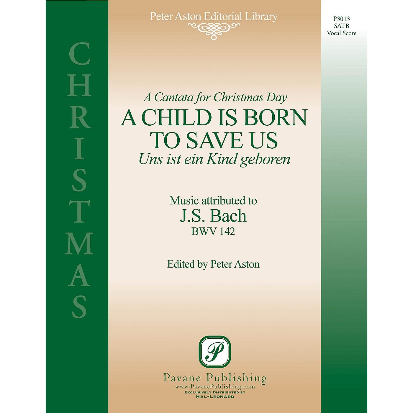 Pavane A Child Is Born to Save Us (Uns Ist Ein Kind Geboren) Score Composed by Johann Sebastian Bach thumbnail
