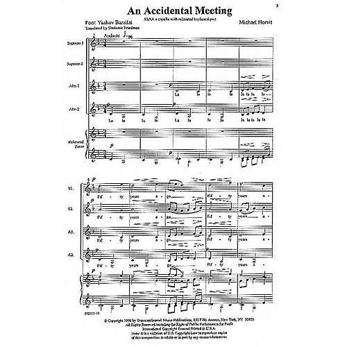 Transcontinental Music A Child's Journey SSAA composed by Michael Horvit thumbnail