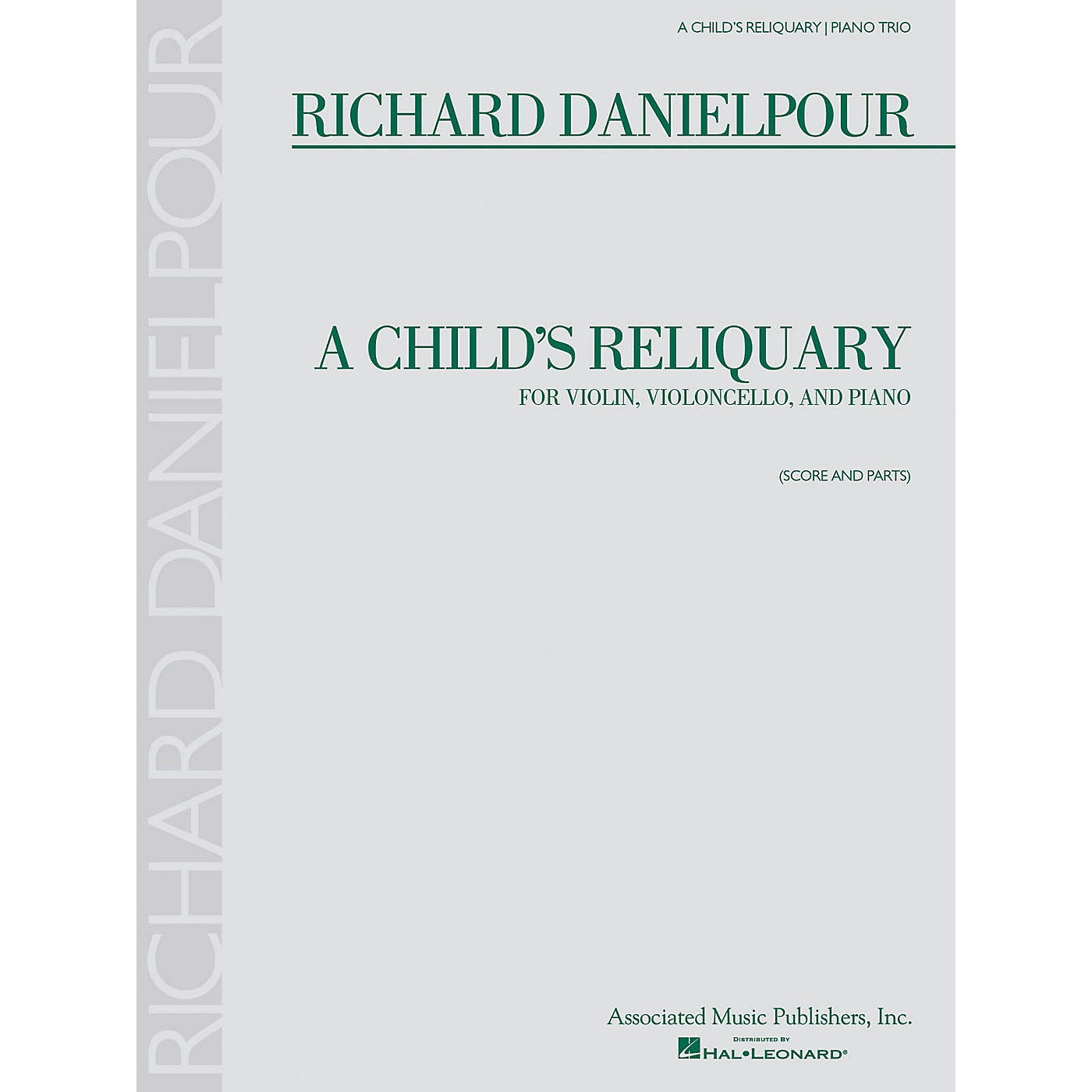 Associated A Child's Reliquary (Score and Parts) Ensemble Series Softcover Composed by Richard Danielpour thumbnail