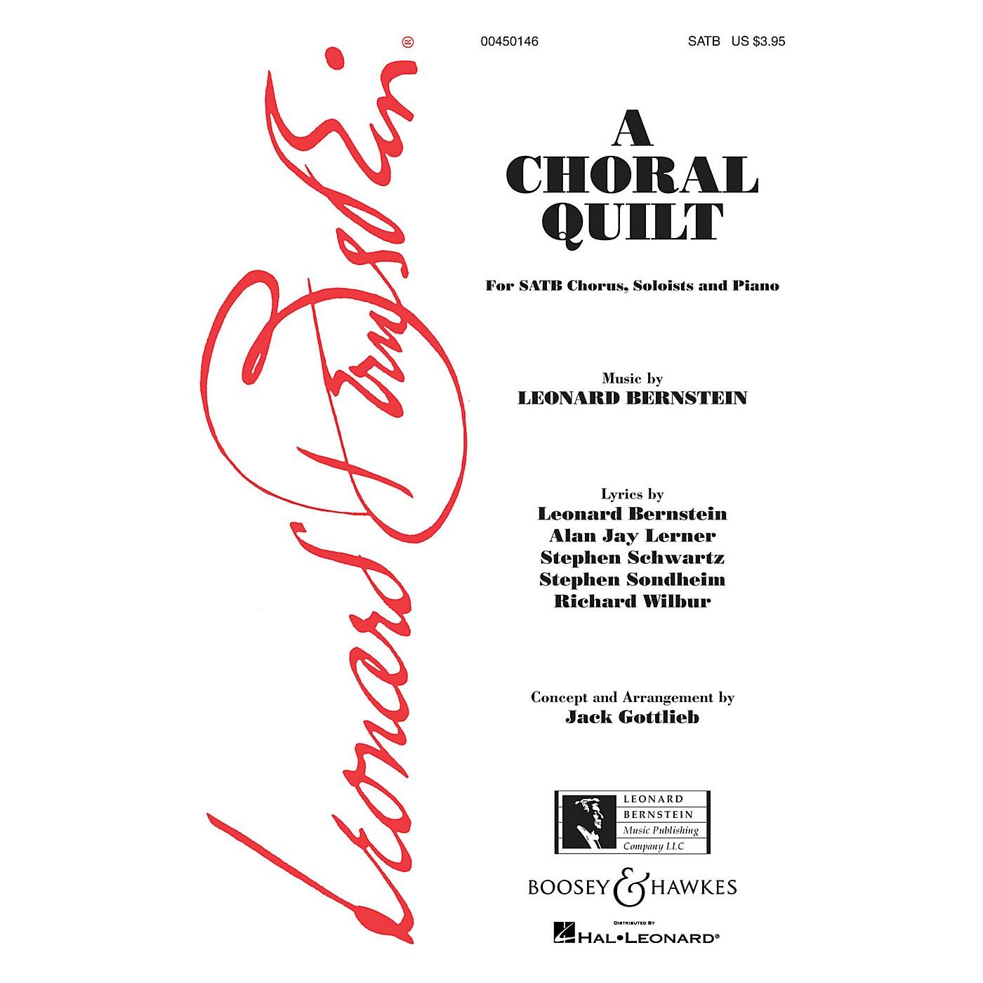 Leonard Bernstein Music A Choral Quilt SATB Arranged by Jack Gottlieb thumbnail