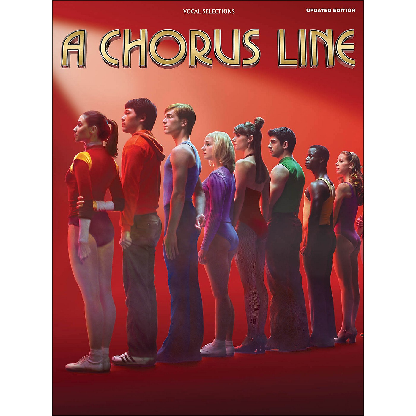 Hal Leonard A Chorus Line - Updated Edition arranged for piano, vocal, and guitar (P/V/G) thumbnail